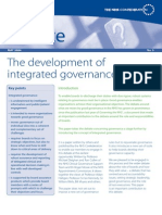 The Development of Integrated Governance (NHS)