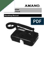 Wacthmankey PR600 Manual