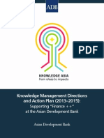 Knowledge Management Directions and Action Plan (2013-2015)