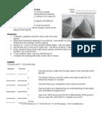 DP 1 Unit 2 – Value to Model Form Lesson:
