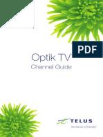 TELUS TV Channel Guide