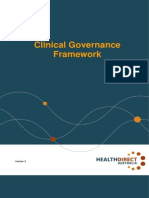 Clinical Governance Framework 2013 - Health Direct Australia