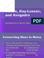Dalton, Gay-Lussac, and Avogadro