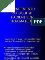 Management Pacient Traumatizat- Final