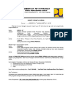 Surat Perintah Kerja (Rambai)