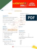 Las 3 Pruebas admisión UNI 2014-1 Lun17/Mier 19/Vier21