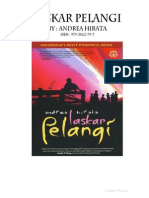 Novel Laskar Pelangi Full Bab 1-34 Only 1.6 Mb