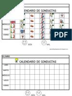 Calendario de Conductas