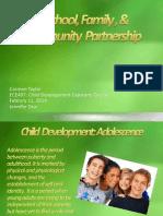 a school family   community  partnership