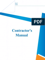 Contractor's Manual _2010