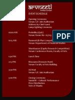 Arvneeti - Schedule