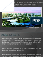 Real Estate in India by Abhiman