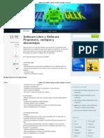 Software Libre y Software Propietario, Ventajas y Desventajas _ GenteGeek
