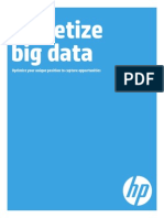 Monetize Big Data