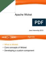 Wicket Presentation