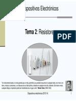 Tema 2 Resistores 1pagina