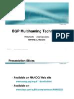 BGP Multihome