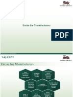 Excise for Manufacturers