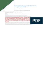 Regulamentul de organizare şi funcţionare a unităţilor de învăţământ preuniversitar 2013