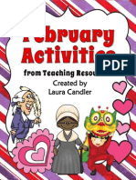 Free February Activities From Teaching Resources