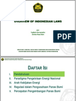 Paparan Overview of Indonesian Laws_AnnRufaida USTDA Training