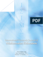 International Electronic Journal of Mathematics Education_Vol 8_N2-3