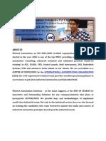 PLC Training in chennai | Embedded training in chennai  | Automation training in chennai