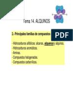 Sintesis de Alquinos y Reacciones