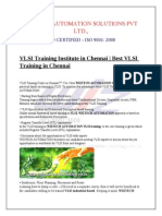 VLSI Training in chenna | Embedded system training in chennai | Best VLSI training course in chennai