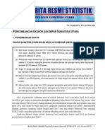 Berita Resmi BPS Sumut Bulan April 2013