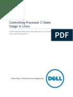 Controlling Processor C-State Usage in Linux v1.1 Nov2013