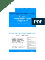 Lattice Steel Towers and Steel Poles