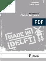 BSc Civiele Techniek Studiegids TU Delft 2006-2007
