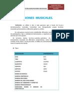 Agrupaciones Musicales, Practica Tres