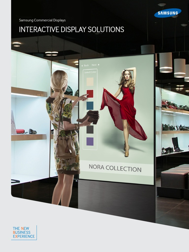 Interactive Display Solutions | Online Shopping | Retail