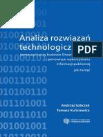 Wydanie II. Analiza rozwiązań technologicznych pomocnych przy budowie Otwartego Rządu i ponownym wykorzystaniu informacji publicznej - jak zacząć