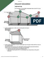 Grid Method Earthwork Calculation