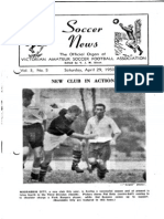 Soccer News 1950 April 29