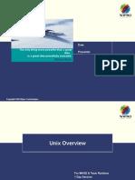 01 Unix Overview