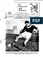 Soccer News 1950 June 3