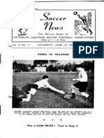Soccer News 1950 June 10