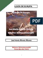 Álvarez Álvarez José María -Apologia de Europa