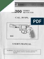 Armscor M200 Series Revolver Cal. 38 Spl. - User Manual