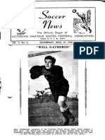 Soccer News 1950 May 27