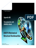 Mechanical-Nonlin 13.0 App6B Viscoplasticity