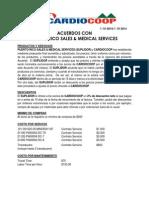 acuerdos con pr sales  medical services 2-20-14