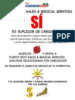 apoyo y auspicia a pr sales  medical services