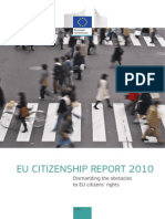 EU CITIZENSHIP REPORT 2010 