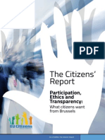 The Citizens The Citizens' Report