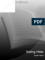 Harris (author) - Selling Hitler the Story of the Hitler Diaries